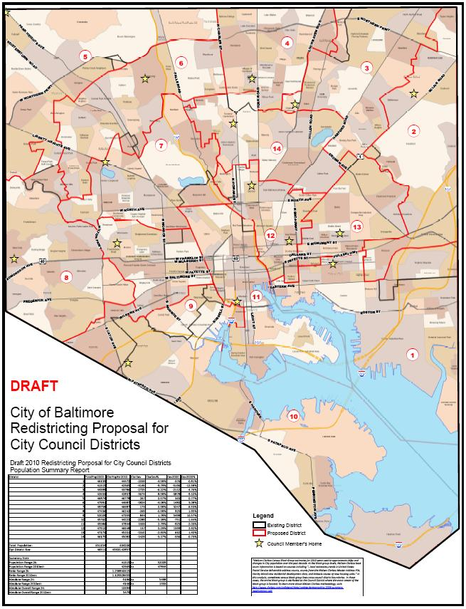 Mayor Introduces City Council Redistricting Plan